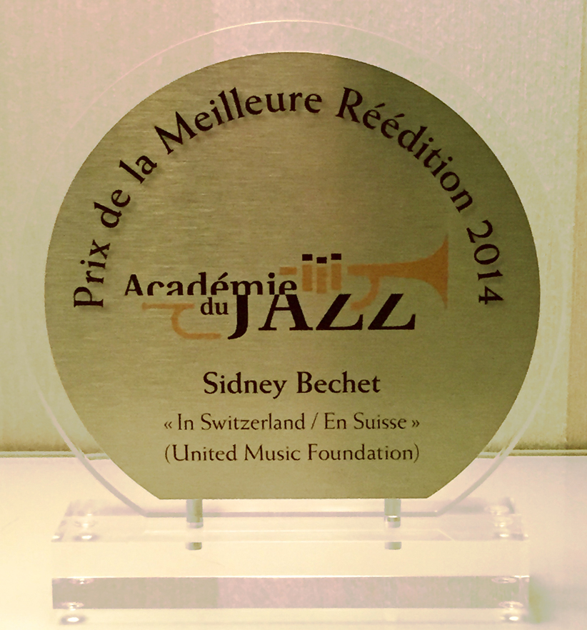 Best Reissue Award 2014 - French Académie du Jazz